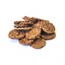 Льняные хлебцы: Лук-чеснок